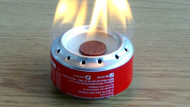 tripode para calentar