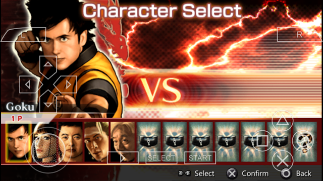 Dragon Ball Evolution PPSSPP ISO For Android