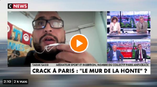 [VIDEO] Tarak Sassi sur le déplacement des toxicomanes à Paris : «On est dans la démonstration du mépris social...»