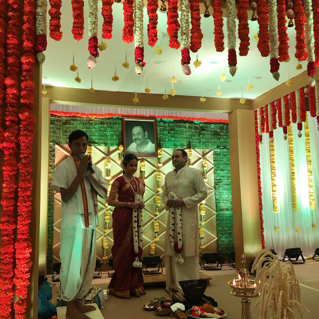 Director Vikram Kumar Wedding pics
