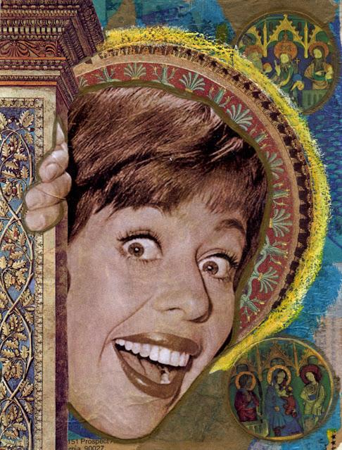 Collage -- TV Saint -- Carol Burnett