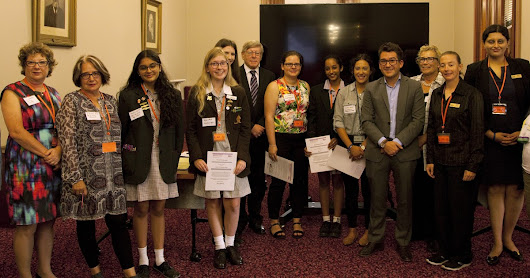 Students Awards at Parliament House