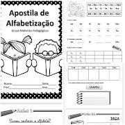 APOSTILA ALFABETIZAÇÃO SÍLABAS SIMPLES E COMPLEXAS - PDF