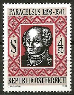 Austria 1991 MNH Theophrastus Bombastus von Hohenheim Paracelsus