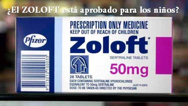 ¿El ZOLOFT está aprobado para los niños?