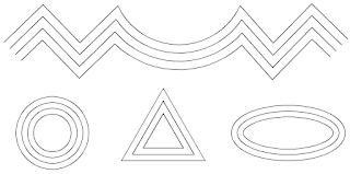 cách sao chép đối tượng với 1 khoảng cách đều nhau trong autocad