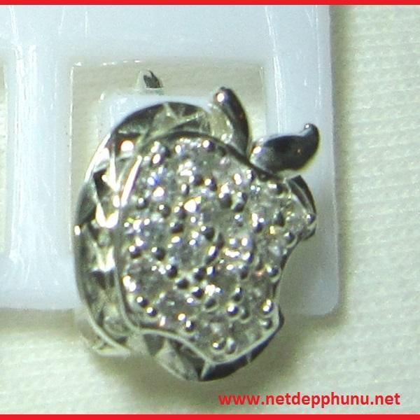 www.netdepphunu.net-Bông tai hình táo khuyến MS-B1 giá 105,000 được cung cấp bởi Netdepphunu.net