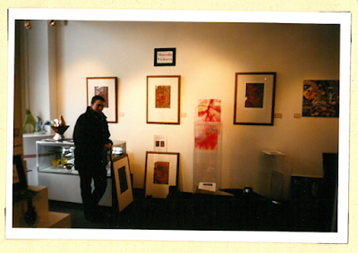 K výstavě Marcely Vichrové v Avant Garde Art Gallery, Washington DC, USA, březen 2001