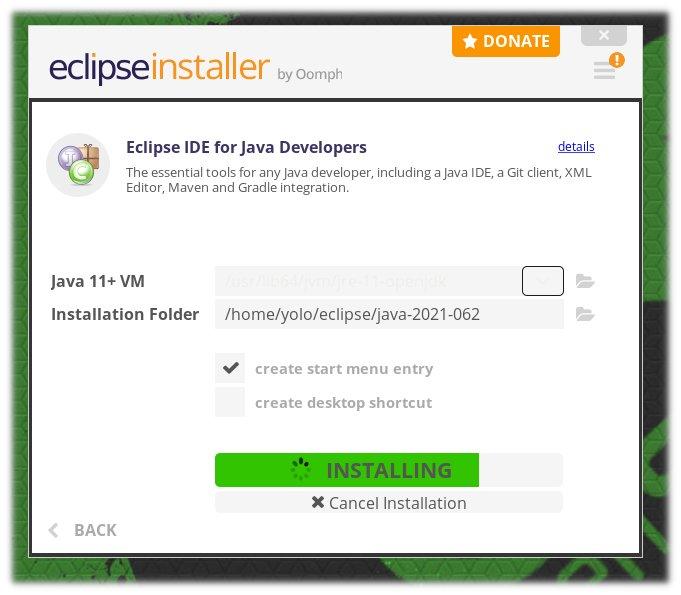 Εγκατάσταση Eclipse