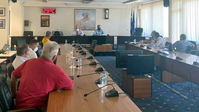 Ορεστιάδα: Σύσκεψη με τον Γ.Γ. Επαγγελματικής Εκπαίδευσης του Υ.ΠΑΙ.Θ. για θέματα επαγγελματικής εκπαίδευσης