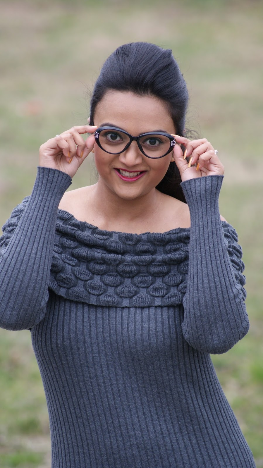 nerd glasses, nerdy glasses on round face, nerdy glasses on indian girl, firmoo glasses review