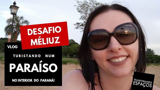Turistando num paraíso no Interior do Paraná!