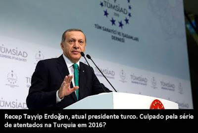 Recep Tayyip Erdogan, culpado pelo atentado no aeroporto de Istambul?