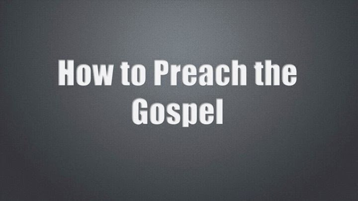 How To Preach The Gospel Starting From Crash