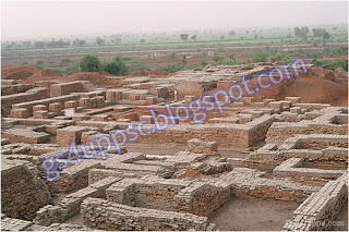 Great granary of of Indus valley civilization