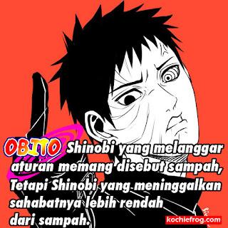 Gambar kata kata motivasi Obito