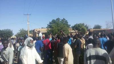 Umm Ruwaba-protest in Sudan