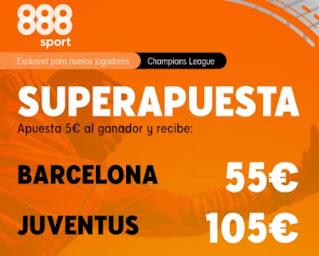 888sport superapuesta Barcelona vs Juventus 8 diciembre 2020