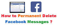 How to Permanent Delete Facebook Messages?