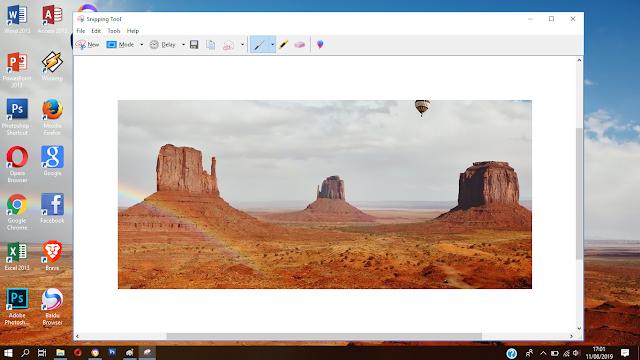 cara mengambil screenshoot windows 10