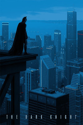 San Diego Comic-Con 2017 Debut The Dark Knight Screen Print by Rory Kurtz x Mondo