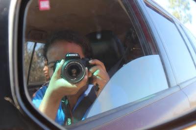 Prise de photo pendant le trajet