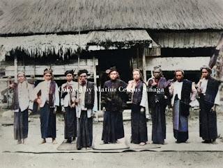 tuan ragaim raja dolok silau bersama rombongan di sumatera utara bagian timur