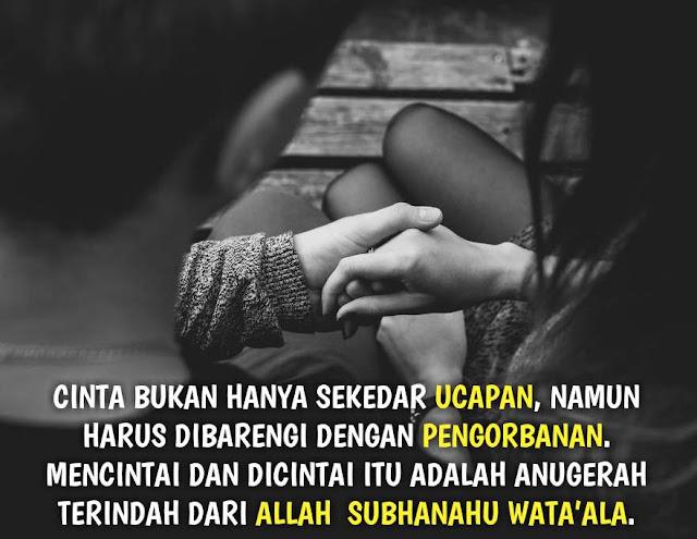 kata kata cinta islami untuk kekasih