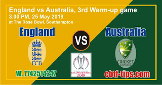 World Cup 2019 Match Prediction Tips by Experts Eng vs Aus