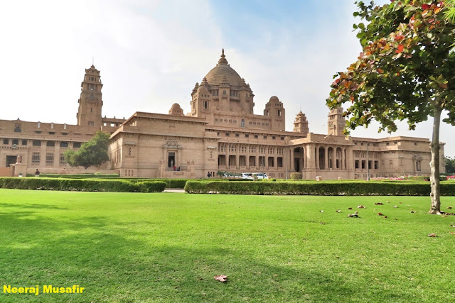 Ummed Bhawan Palace best view