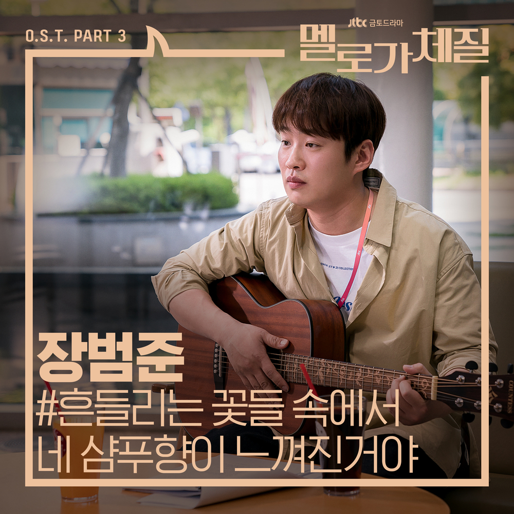 張凡俊 Your Shampoo Scent In The Flowers韓文歌詞+中文翻譯(浪漫的體質OST) - 櫻花泡菜