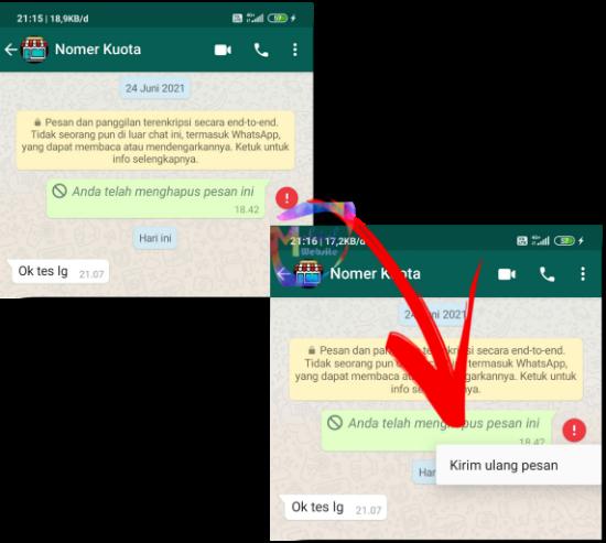 cara hapus pesan whatsapp yang sudah lama hapus chat wa sebulan lalu