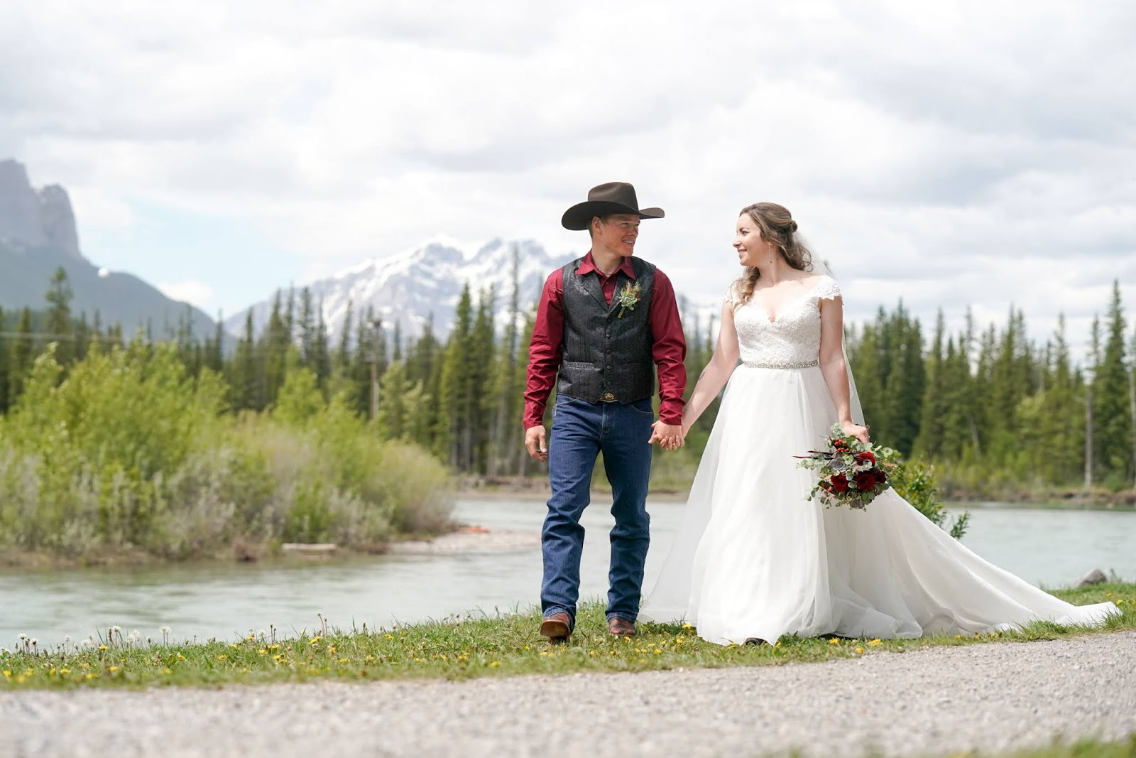 Canmore Summer Elopement