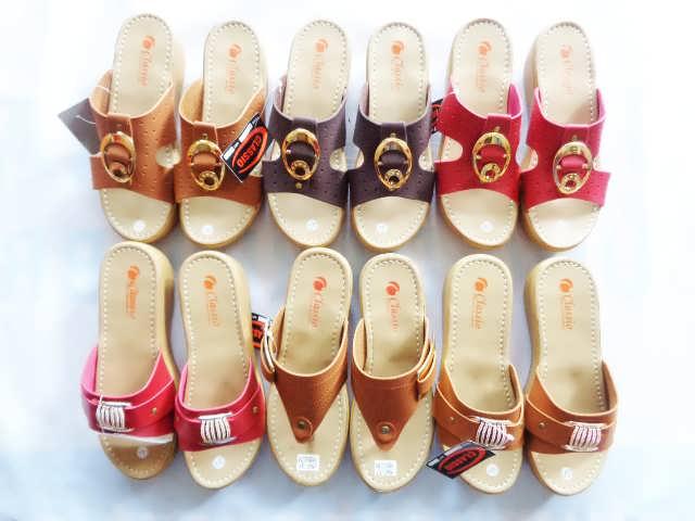 Wedges CS CPC Wanita - Pabrik Sandal Tasik