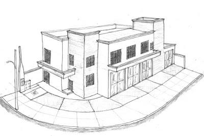 Perspectiva da fase de estudos do projeto, iniciada em novembro de 2014.