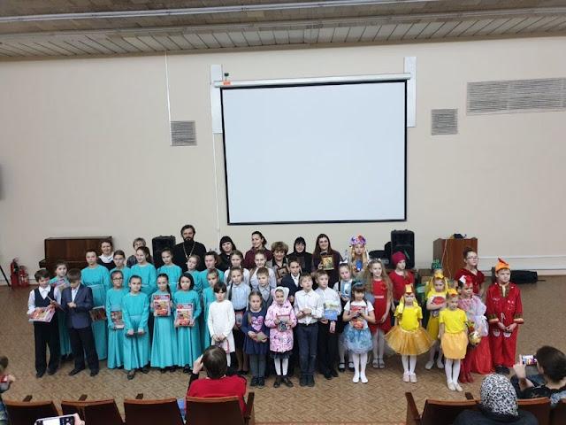 14 апреля состоялся 1 отборочный тур православного фестиваля-конкурса среди воспитанников воскресных школ Центрального благочиния « Светлый ангел ».