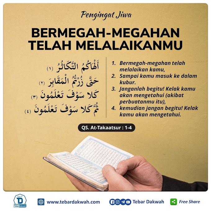 BERMEGAH-MEGAHAN TELAH MELALAIKANMU