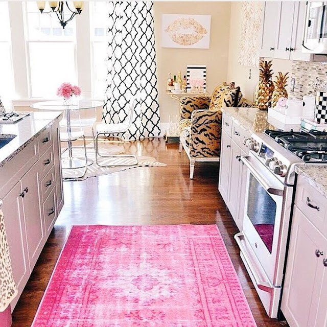 Rise And Shine Kitchen Pink