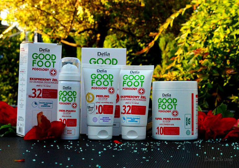 Delia Good Foot Podology kosmetyki do pielęgnacji stóp