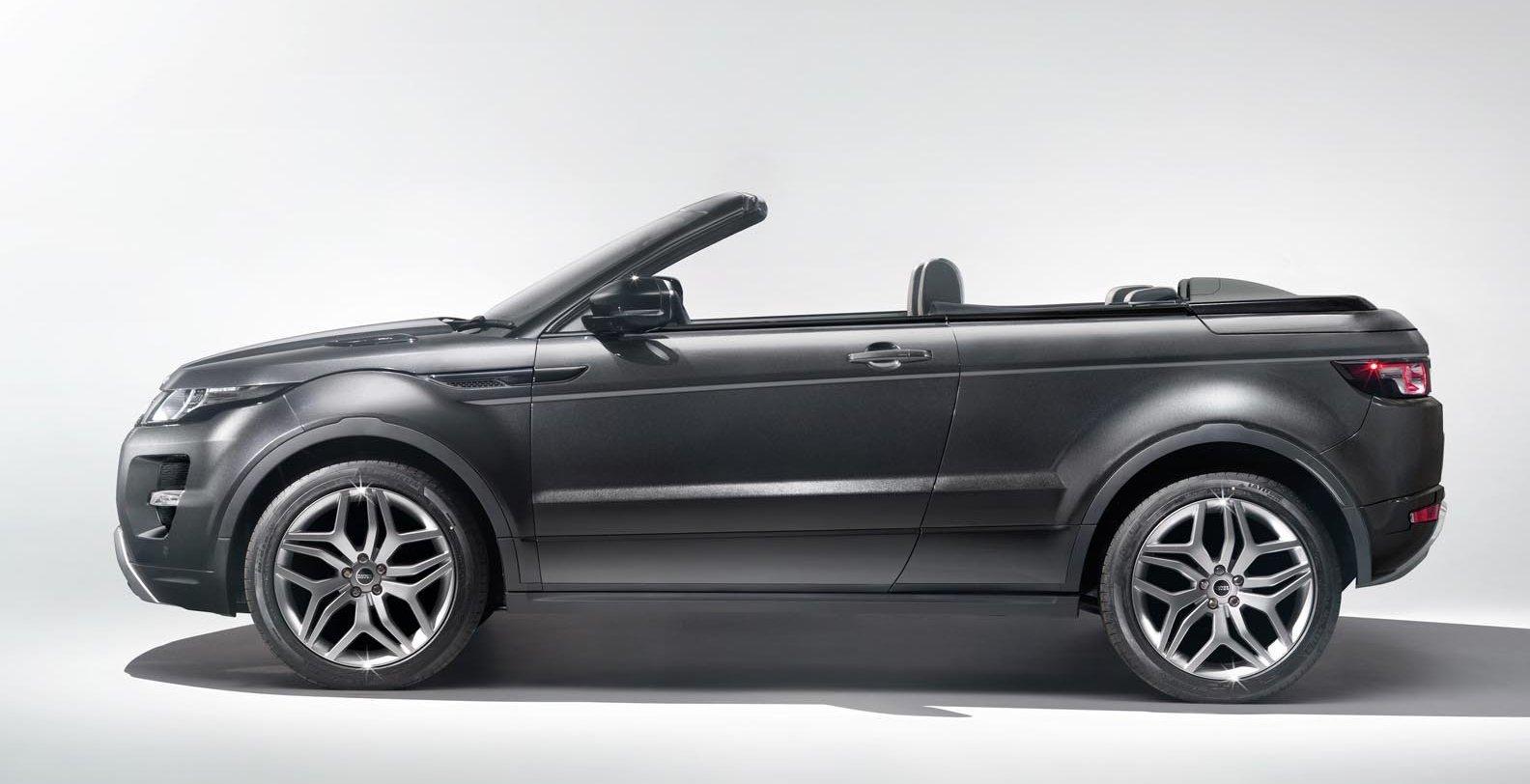 range rover evoque convertible concept 2012 geneva motor show garage car. Black Bedroom Furniture Sets. Home Design Ideas