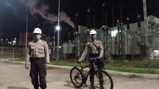 Cegah Kriminalitas Pada Obvitnas dan Obter, Personel Ditpamobvit Polda Banten Rutin Lakukan Patroli