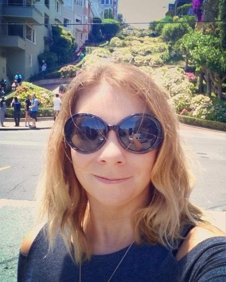 Me at Lombard Street San Francisco