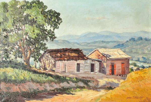 Dos casas en el camino, Yoryi Morel, 1939