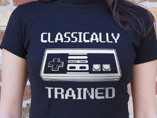 classically trained nes shirt