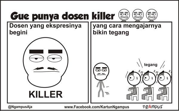 Tips Menghadapi Dosen Killer