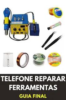 ferramentas para reparar telemoveis