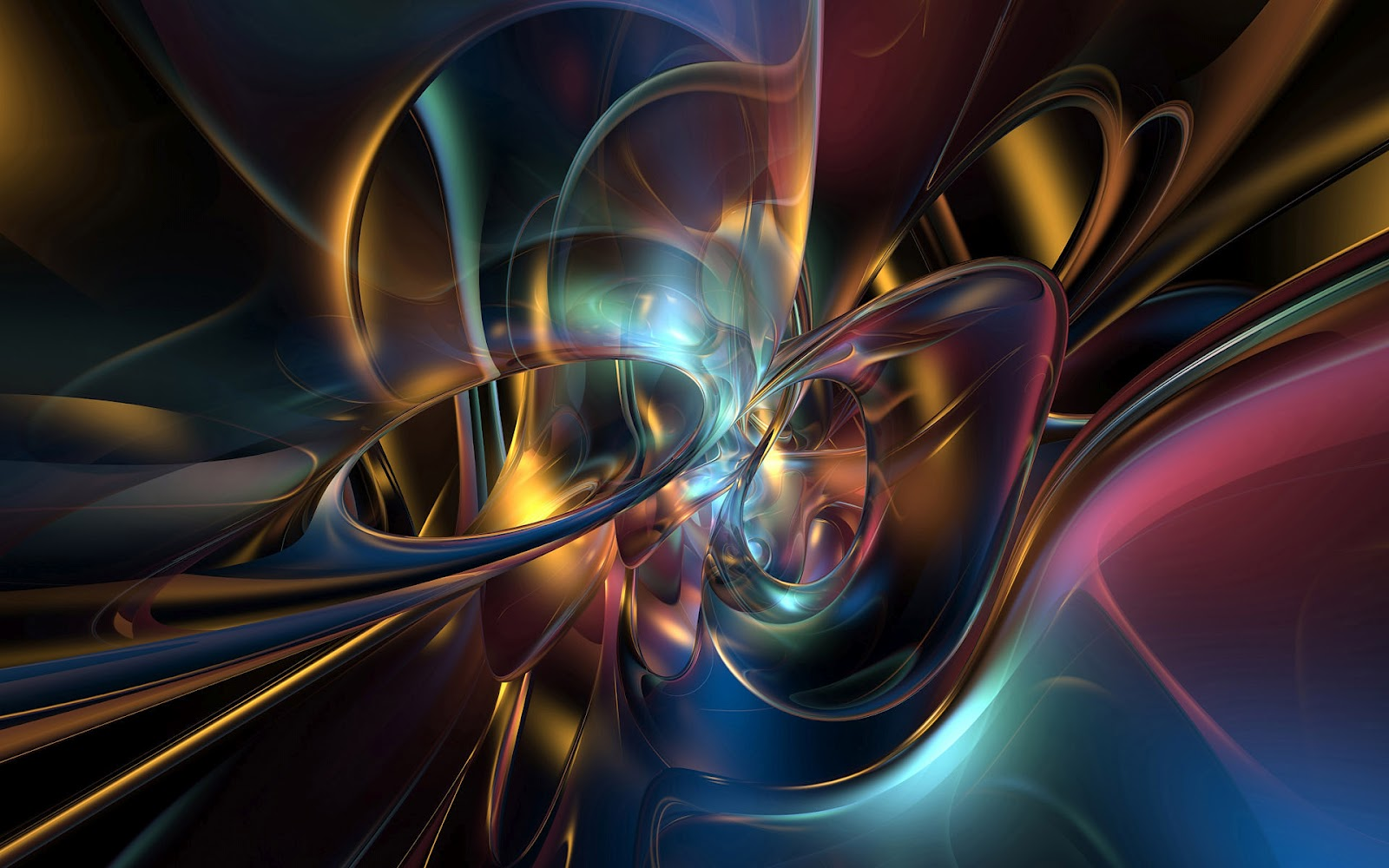 HD Background: 3D Abstract Wallpapers