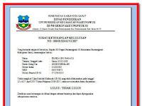 Download Aplikasi Cetak Otomatis Surat Keterangan Kelulusan Siswa SD,SMP dan SMA Format Excel Terbaru