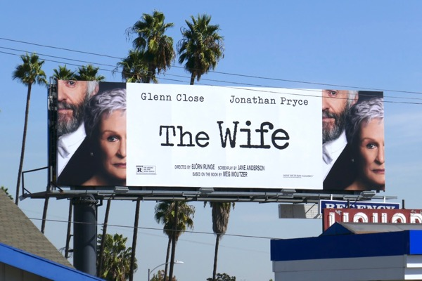 The Wife movie billboard