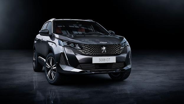 Peugeot 3008 facelift ra mắt tại Châu Âu, nhiều nâng cấp mới.
